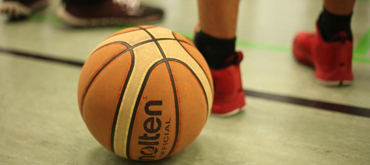 Szene vom Basketball-Training der Neuköllner Bären (SV Neukölln 09 e.V.)