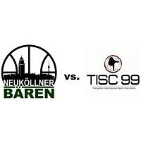 Logos der Verein SV Neukölln 09 (Neuköllner Bären) und Tiergarten ISC