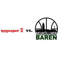 Logos der Vereine SV Pfefferwerk und SV Neukölln 09 (Neuköllner Bären)