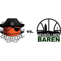 Logos der Vereine Freibeuter 2010 und SV Neukölln 09 (Neuköllner Bären)