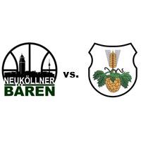 Logos der Vereine SV Neukölln 09 (Neuköllner Bären) und SVB Brauereien
