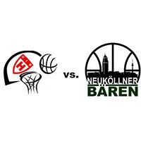 Logos der Vereine VfB Hermsdorf gegen den SV Neukölln 09 (Neuköllner Bären)