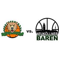 Logos der Vereine ASV Moabit und SV Neukölln 09 (Neuköllner Bären)