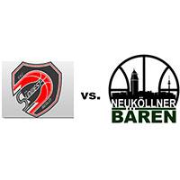 Logos der Vereine SSC Südwest und SV Neukölln 09 (Neuköllner Bären)