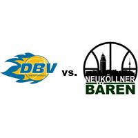 Logos der Vereine DBV Charlottenburg und SV Neukölln 09 (Neuköllner Bären)