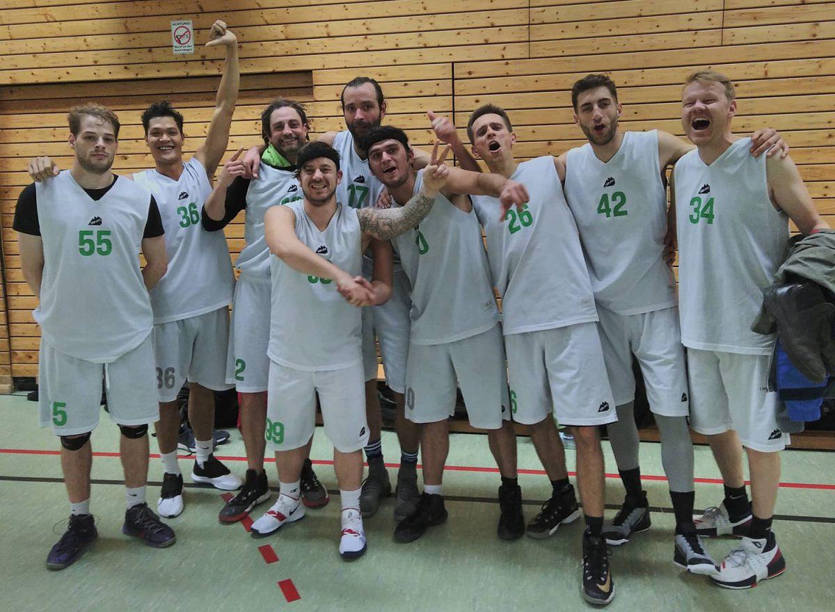 Teamfoto des SV Neukölln 09 2 (Saison 2018/19)
