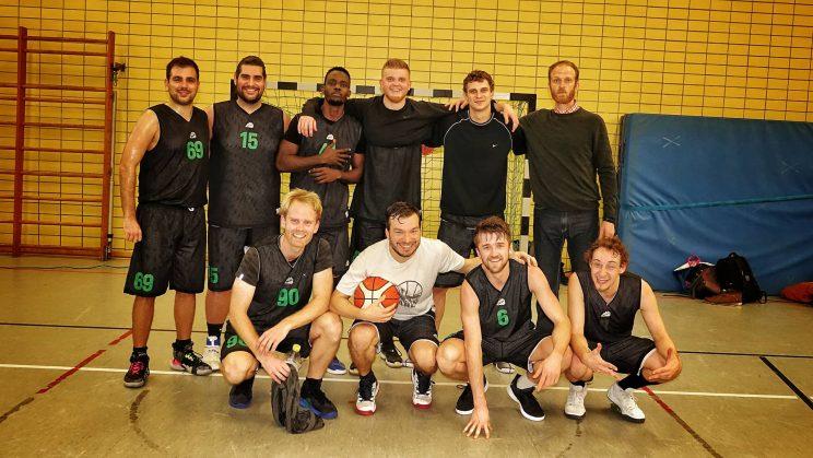 Teamfoto des SV Neukölln 09 1 (Neuköllner Bären)