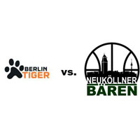 Logos der Vereine Berlin Tiger und SV Neukölln 09 (Neuköllner Bären)