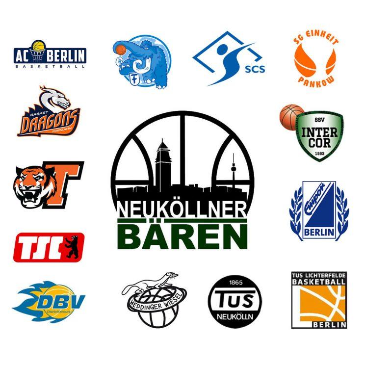 Logoboard des SV Neukölln 09 1 für die Saison 2020/21