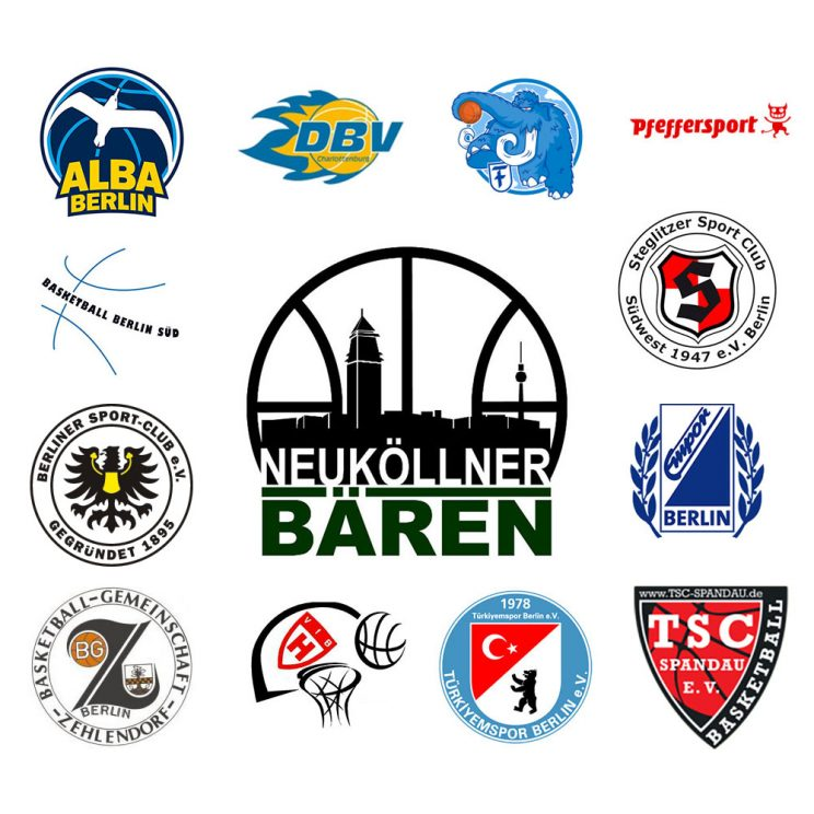 Logoboard des SV Neukölln 09 2 für die Saison 2020/21