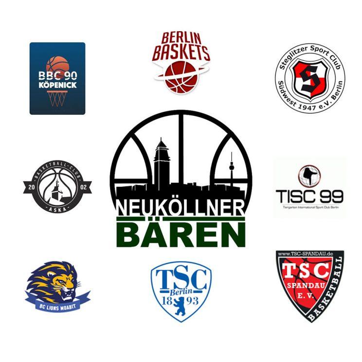 Logoboard des SV Neukölln 09 3 für die Saison 2020/21