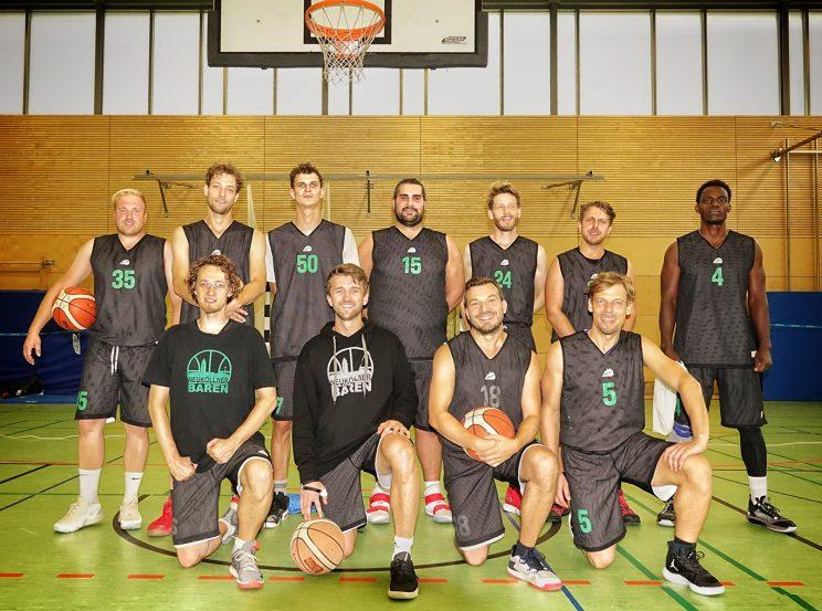 Teamfoto des SV Neukölln 09 1 (Saison 2020/21)