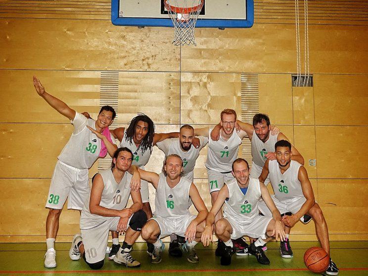 Teamfoto des SV Neukölln 09 2 (Saison 2020/21)