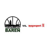 Logos der Vereine SV Neukölln 09 (Neuköllner Bären) und Pfeffersport